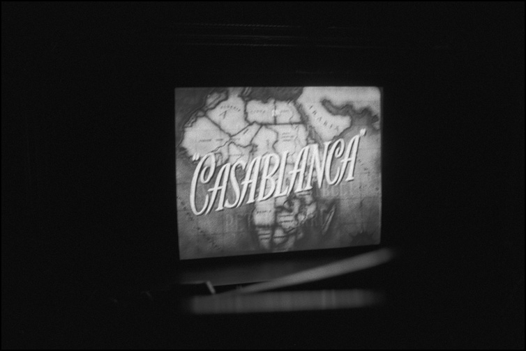On Saturday, we went to see Casablanca at the Virginia.