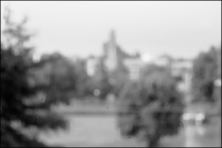 Rainy Day, Hexar RF, Lens Unrecorded, Delta 100 @ 50, Tmax Dev