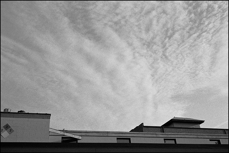 Sky & Roofline, Hexar RF, 50 Hex, Delta 400 in Diafine