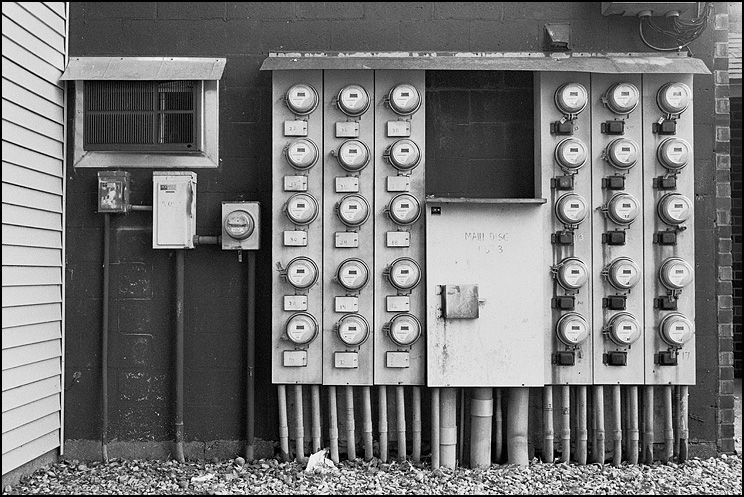 Dials, Hexar RF, ZM Biogon 35, Delta 400, Tmax Dev